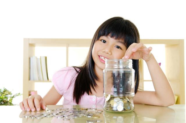 Hầu hết trẻ em không có khái niệm rõ ràng về tiền bạc